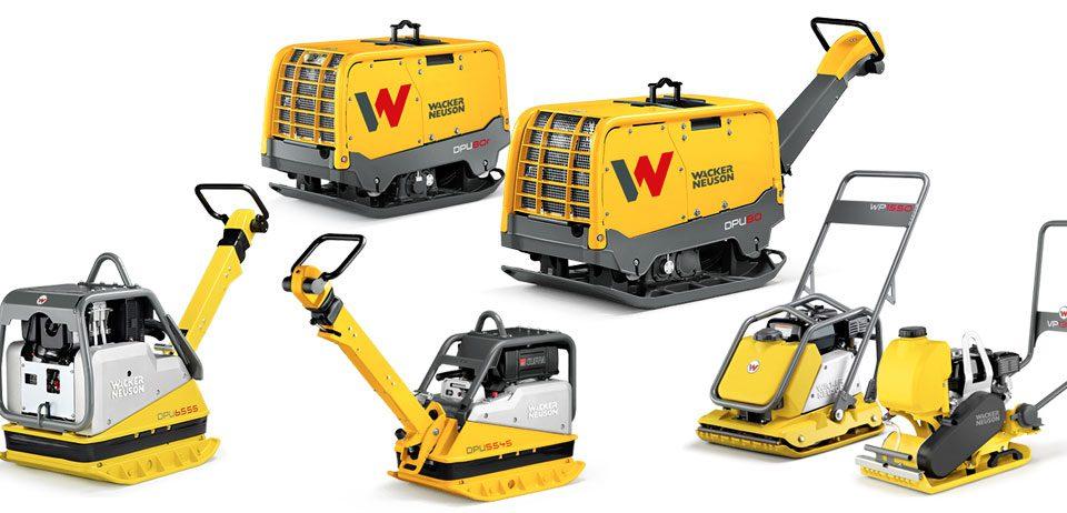 Wacker Neuson vibradoras 2ports