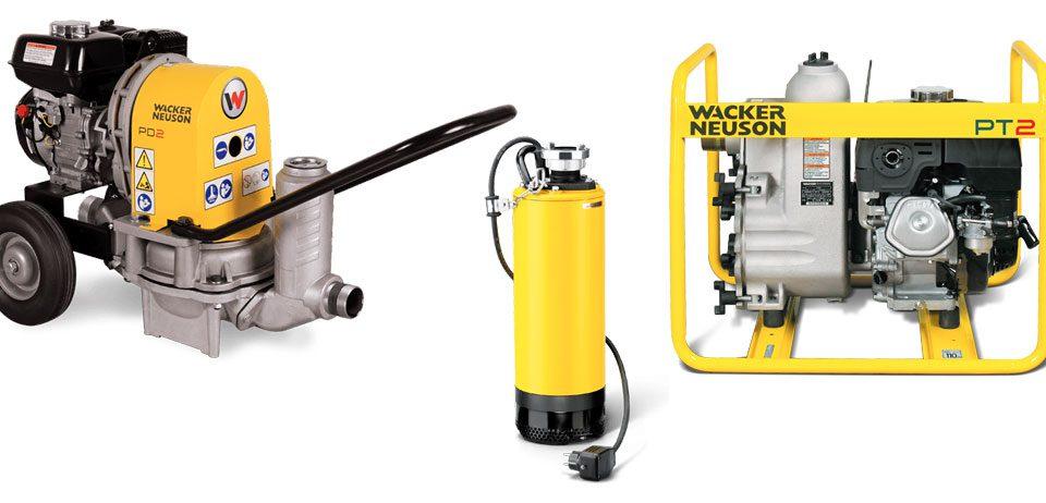 Wacker Neuson bombas 2ports