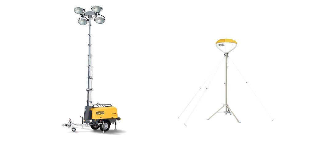 Wacker Neuson iluminación 2ports