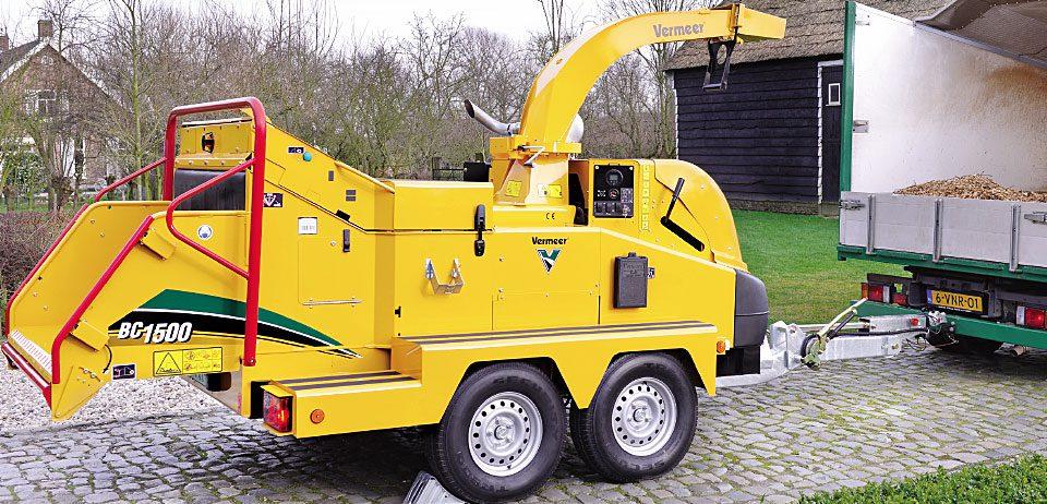 Astilladora Vermeer BC1500 2ports