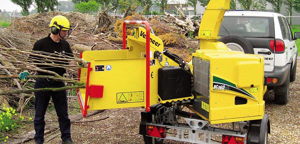 Astilladora Vermeer BC160XL 2ports